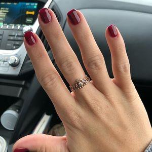 Pandora Rose Gold Princess Crown Ring